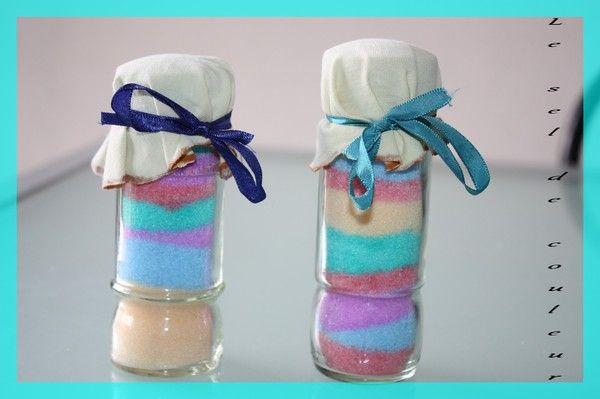 Activite manuelle sel de couleur - Desherber avec du sel ...
