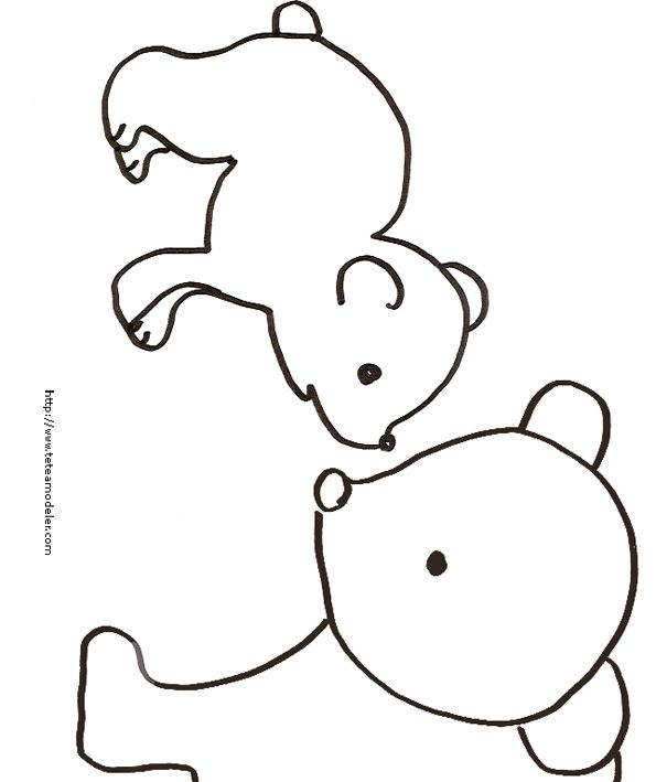 Coloriage - Ours polaire dessin ...